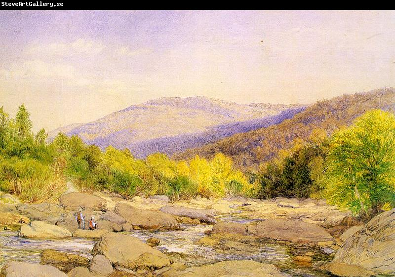 Hill, John William View on Catskill Creek