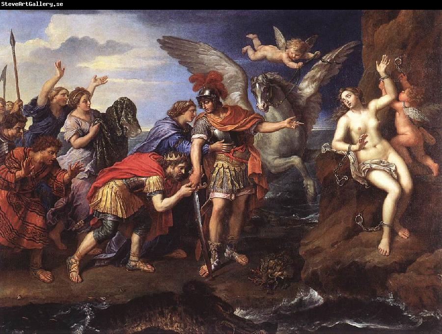 MIGNARD, Pierre Perseus and Andromeda