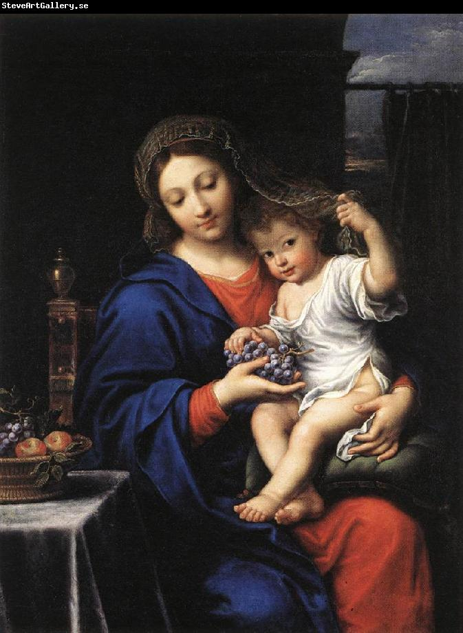 MIGNARD, Pierre The Virgin of the Grapes