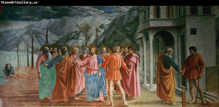 MASACCIO The Tribute Money (mk08)